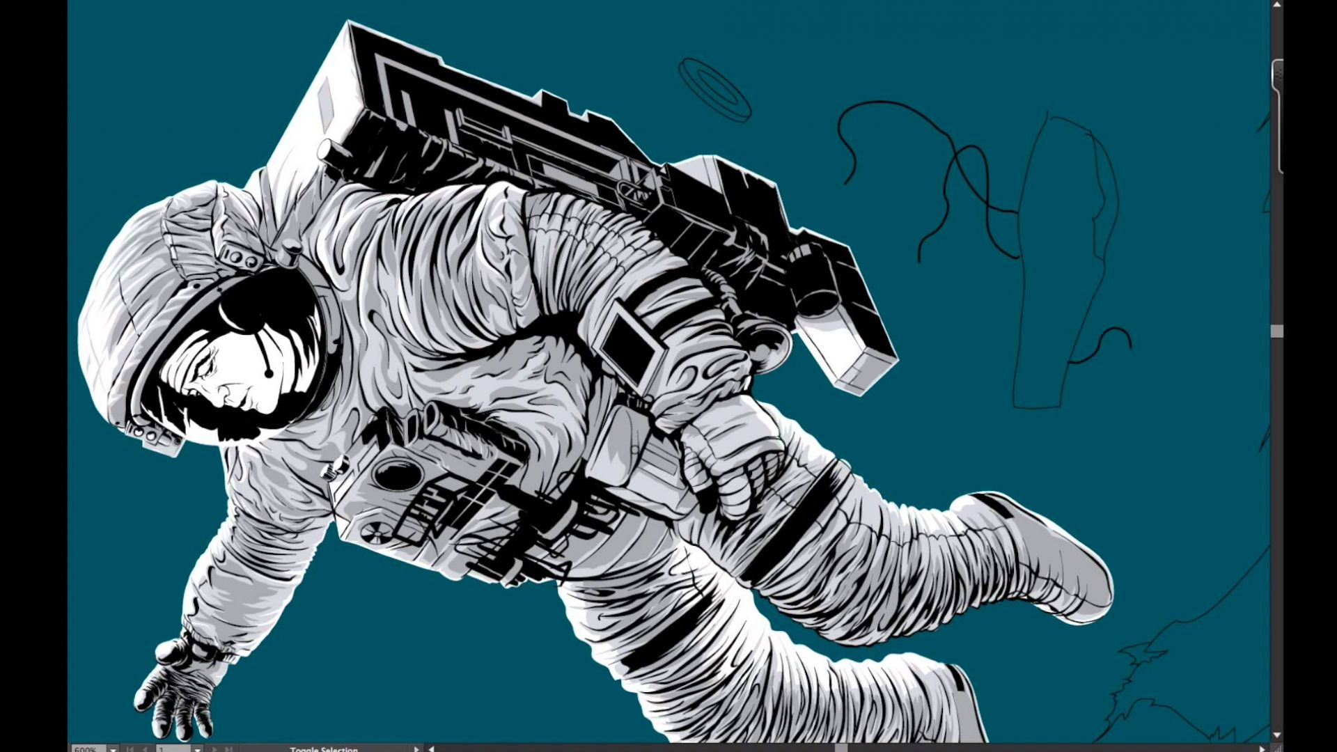 Creating the Gravity poster