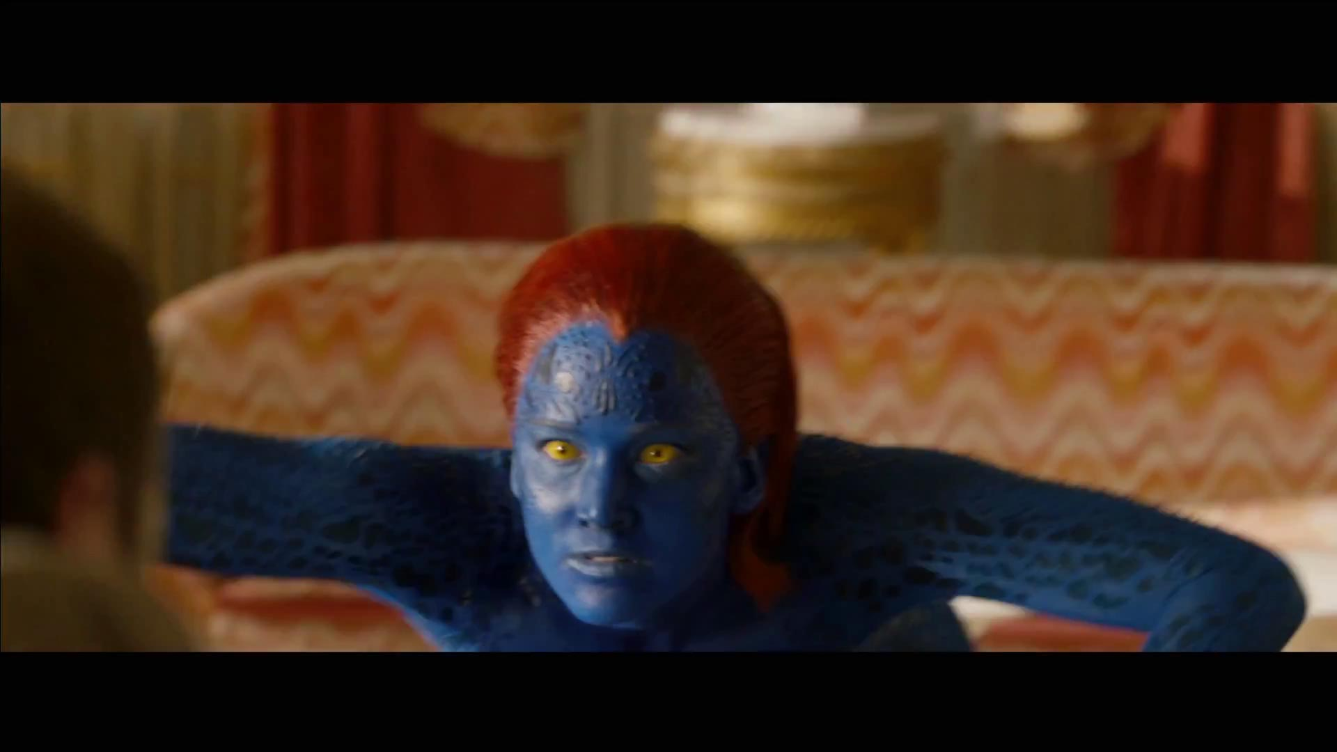 Jennifer Lawrence is found out, turns blue as mutant ...