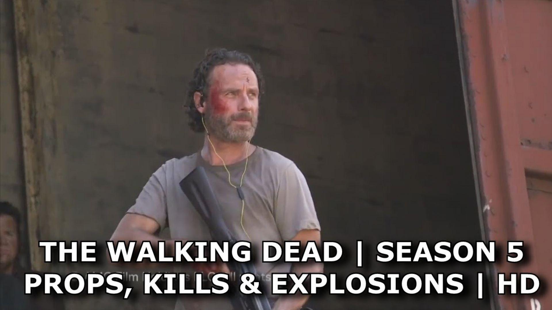 The Walking Dead Season 5: Behind The Scenes Props, Kills an