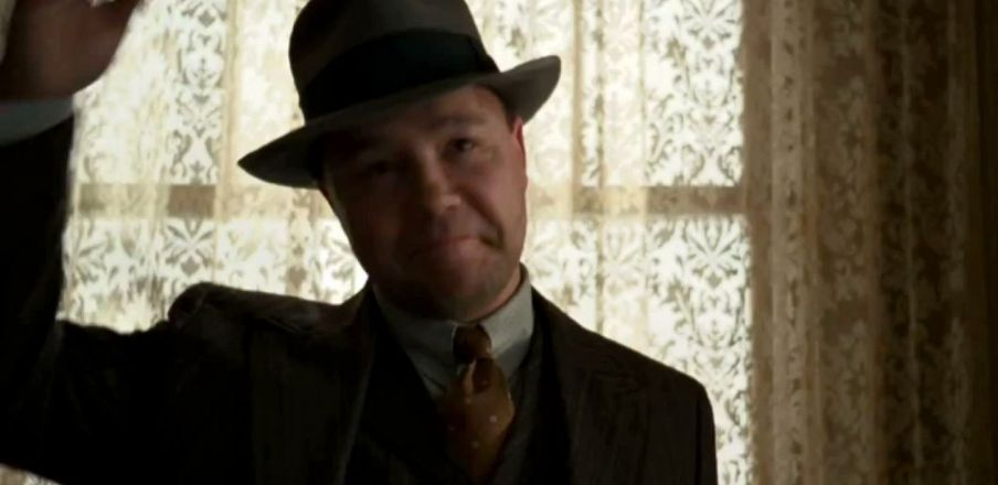 Al Capone in Boardwalk Empire
