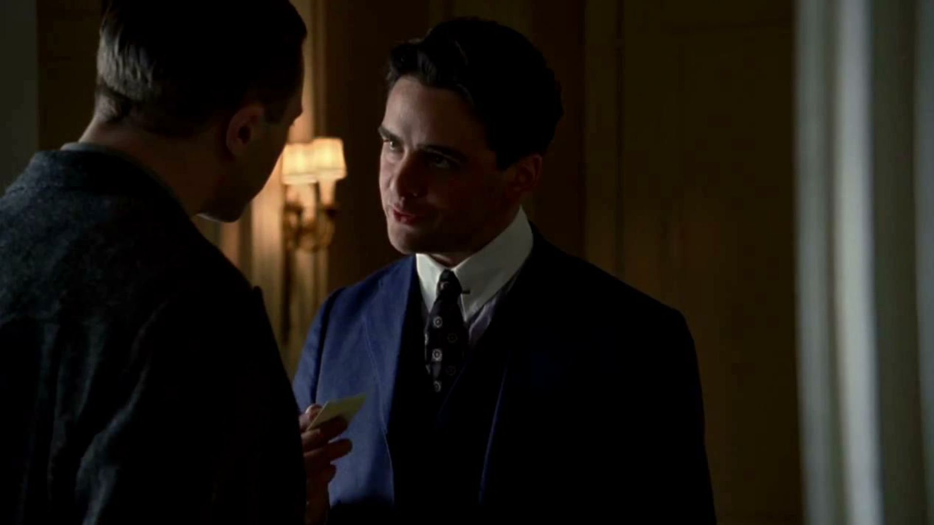 Lucky Luciano in Boardwalk Empire