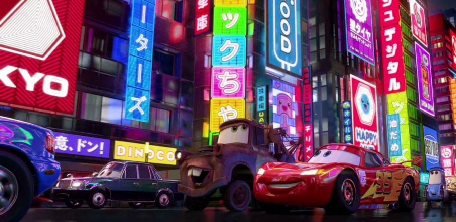 Cars 2 crew visits London, Paris, Italy and Japan for inspiration