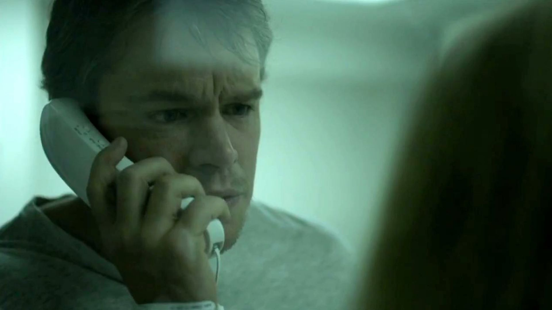 Matt Damon in quarantine in Contagion