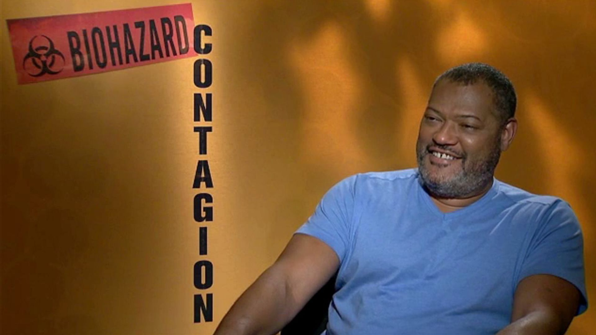 Laurence Fishburne talks about the secret weapon, being the ringmaster and Kate Winslet in Contagion