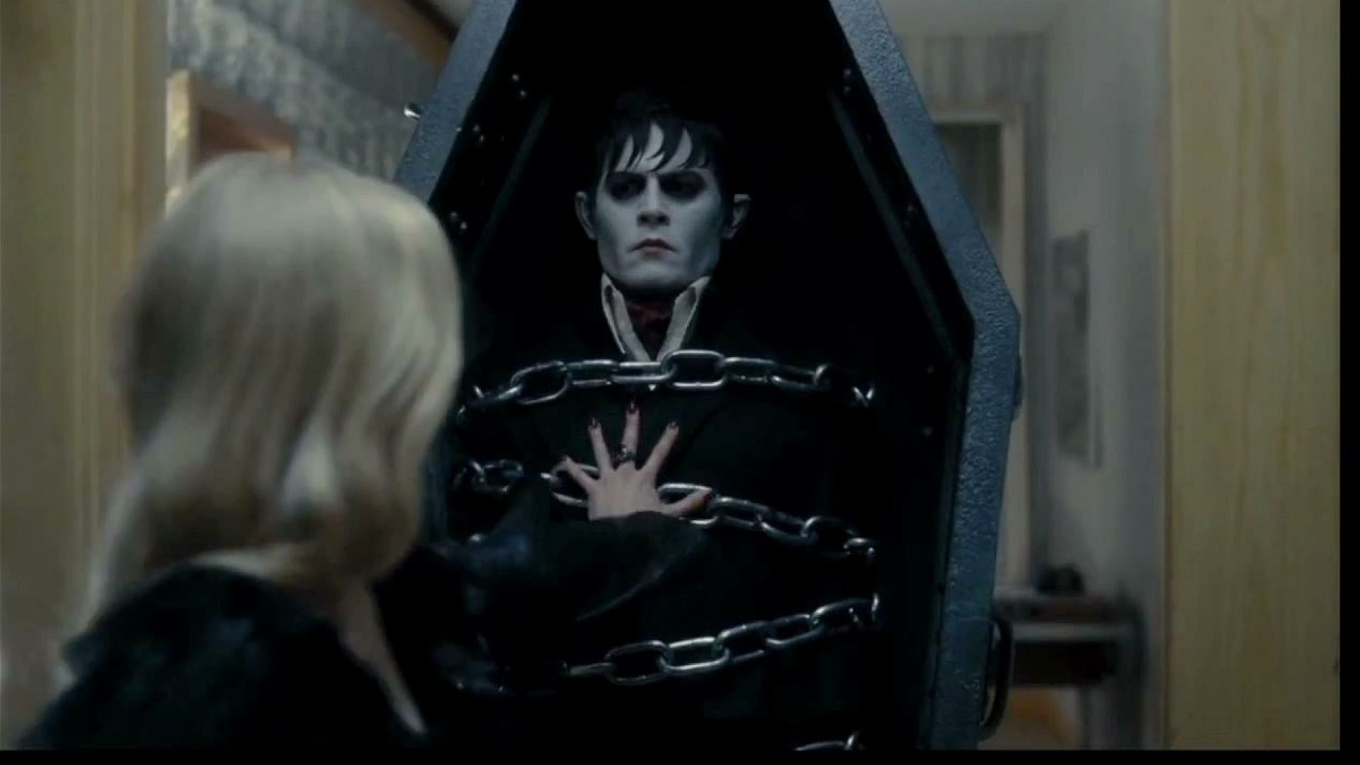 You may strategically place your wonderful lips upon my posterior and kiss it repeatedly. Dark Shadows