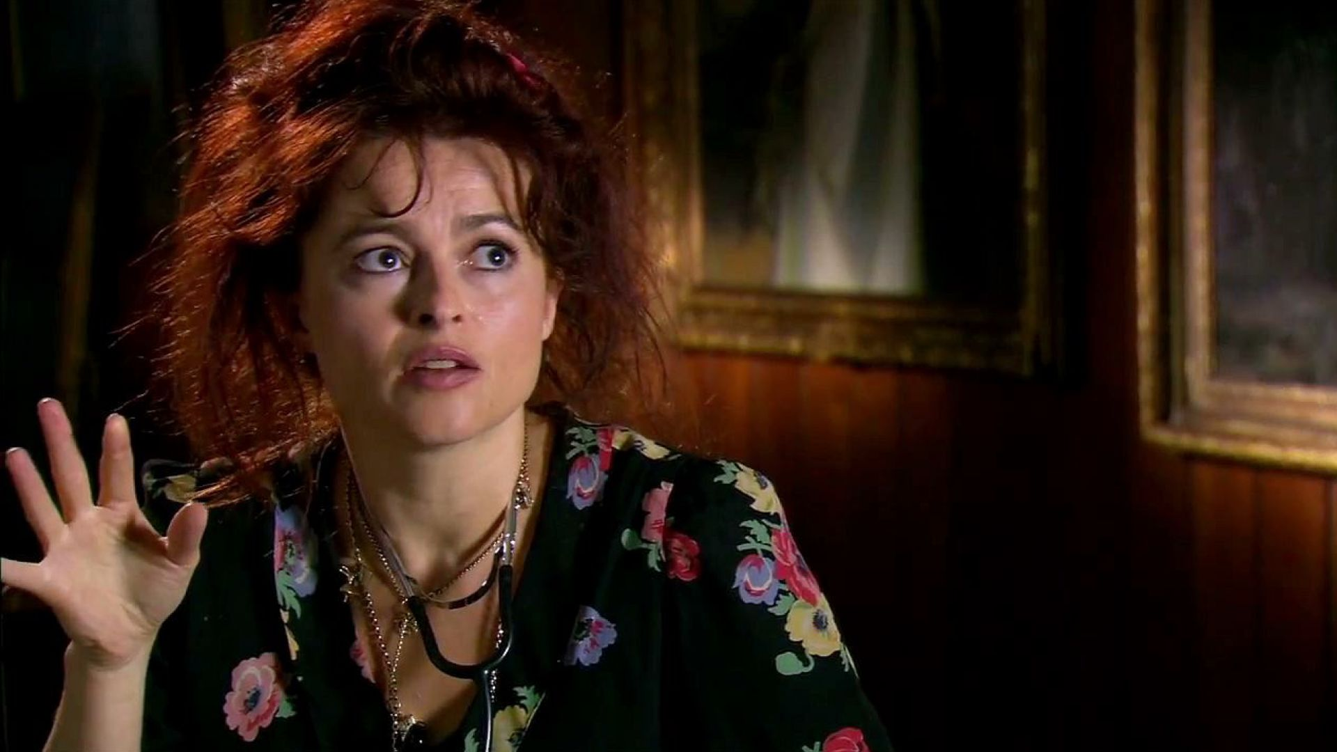 Helena Bonham Carter on playing a lonely, drunk psychiatrist in Dark Shadows