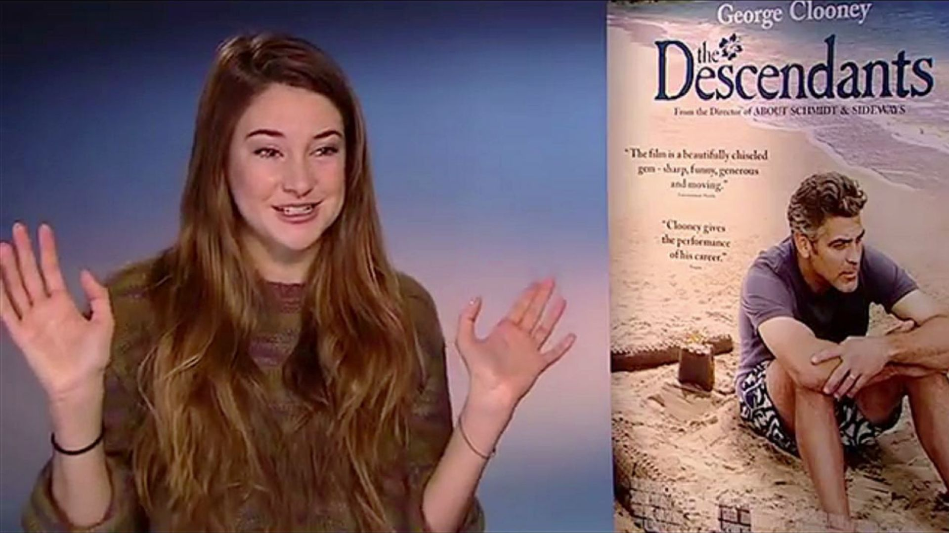 Alexander Payne, Shailene Woodley and George Clooney talk about the story of The Descendants