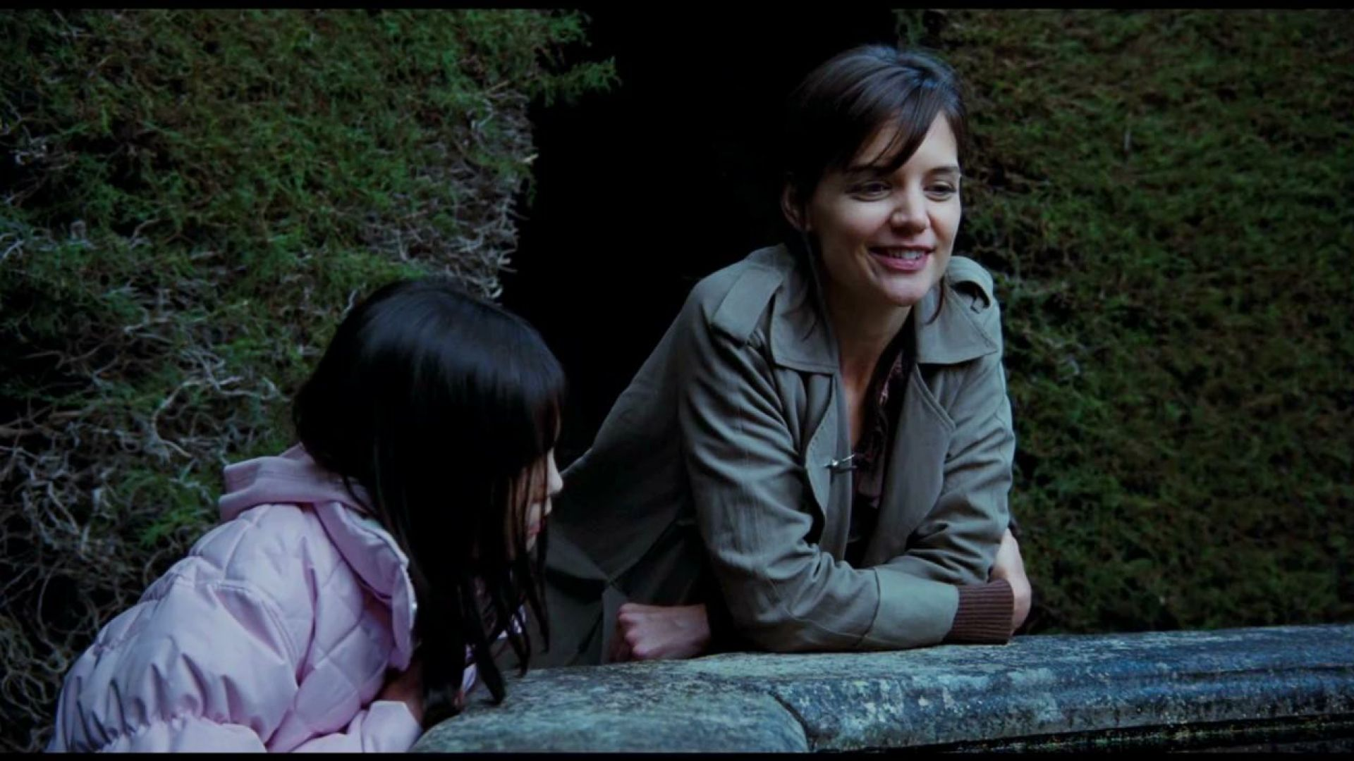 Sally cries at the koi pond in don 39 t be afraid of the dark for Sally t fishing