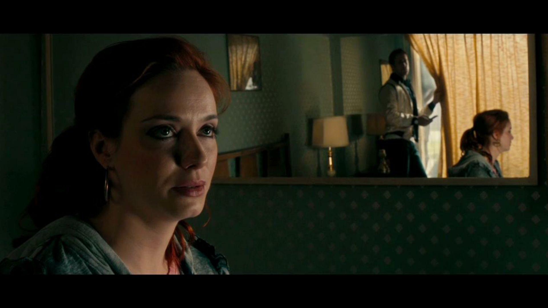 Christina Hendricks as Blanche in Drive
