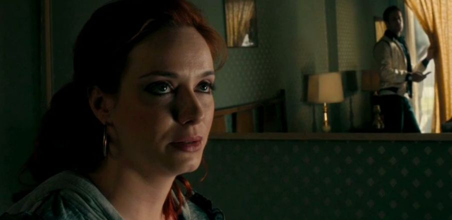 Christina Hendricks as Blanche in Drive
