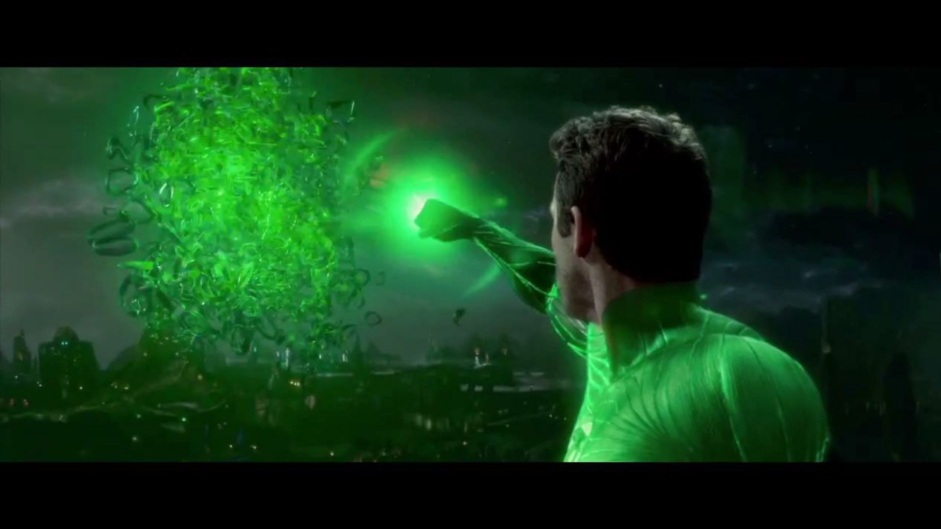 The Green Lantern can create anything