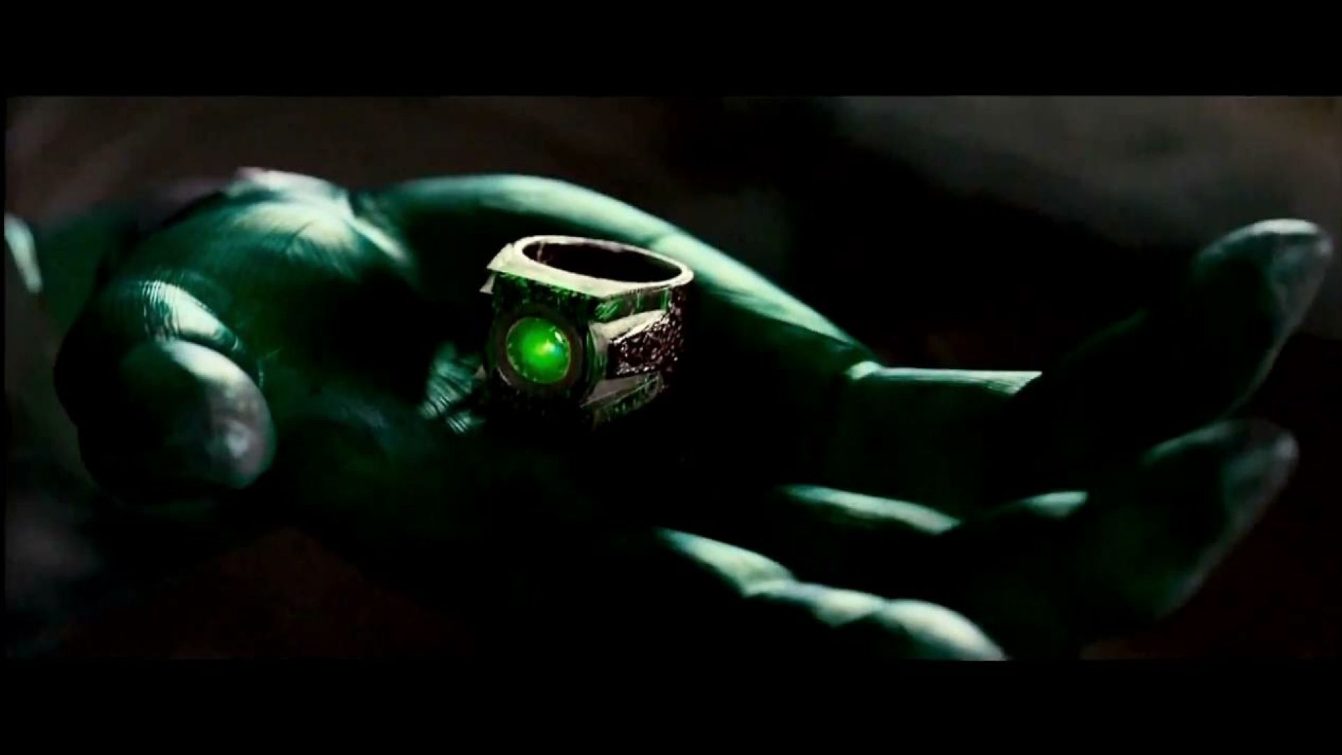 Hal Jordan is chosen, Green Lantern