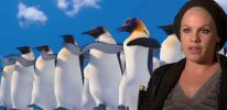 Pink (Alecia Moore) on Gloria and the music in Happy Feet 2
