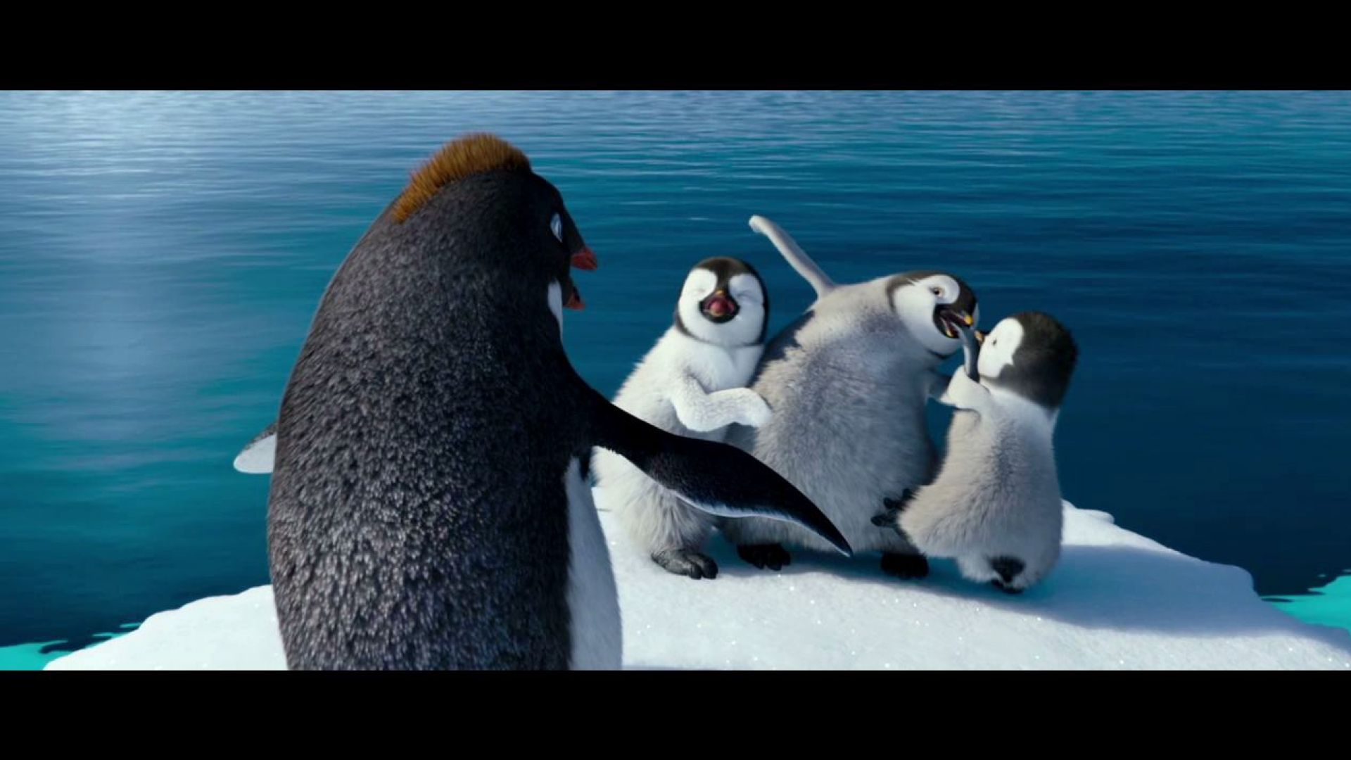 you're here without your parents. this is chick-napping. happy feet