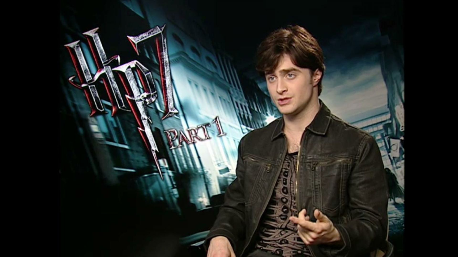 Daniel Radcliffe Interview Harry Potter 7