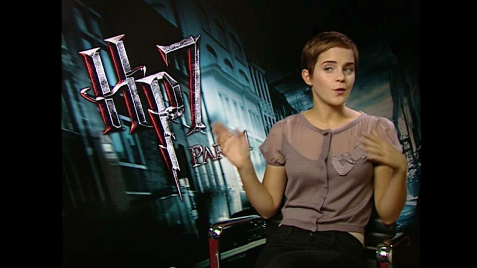 Emma Watson Interview Harry Potter 7