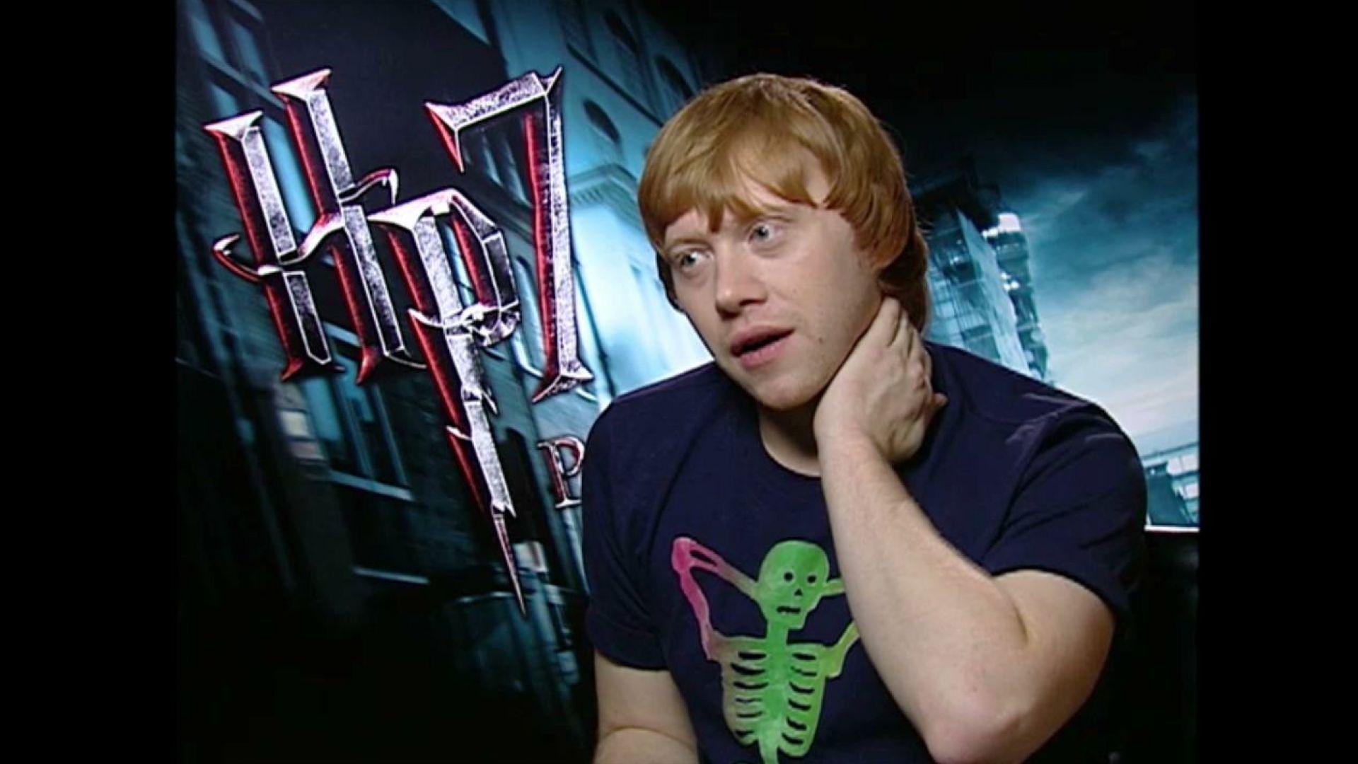 Rupert Grint Interview Harry Potter 7