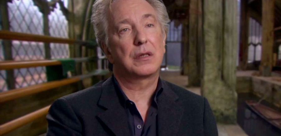 Alan Rickman on the characteristics of Severus Snape in the last Harry Potter
