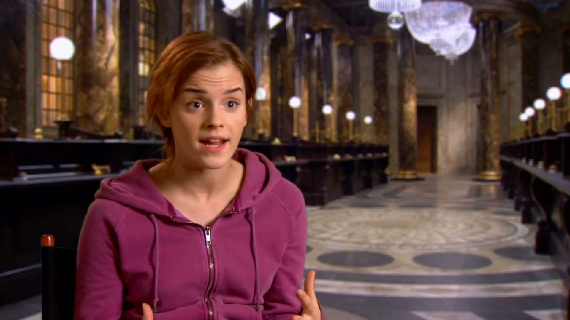 Emma Watson on the challenges of making the epic, jaw dropping Harry Potter finale
