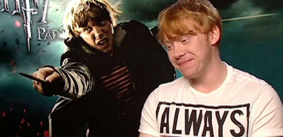 Rupert Grint talks about playing Ron Weasley in Harry Potter 7 Part 2