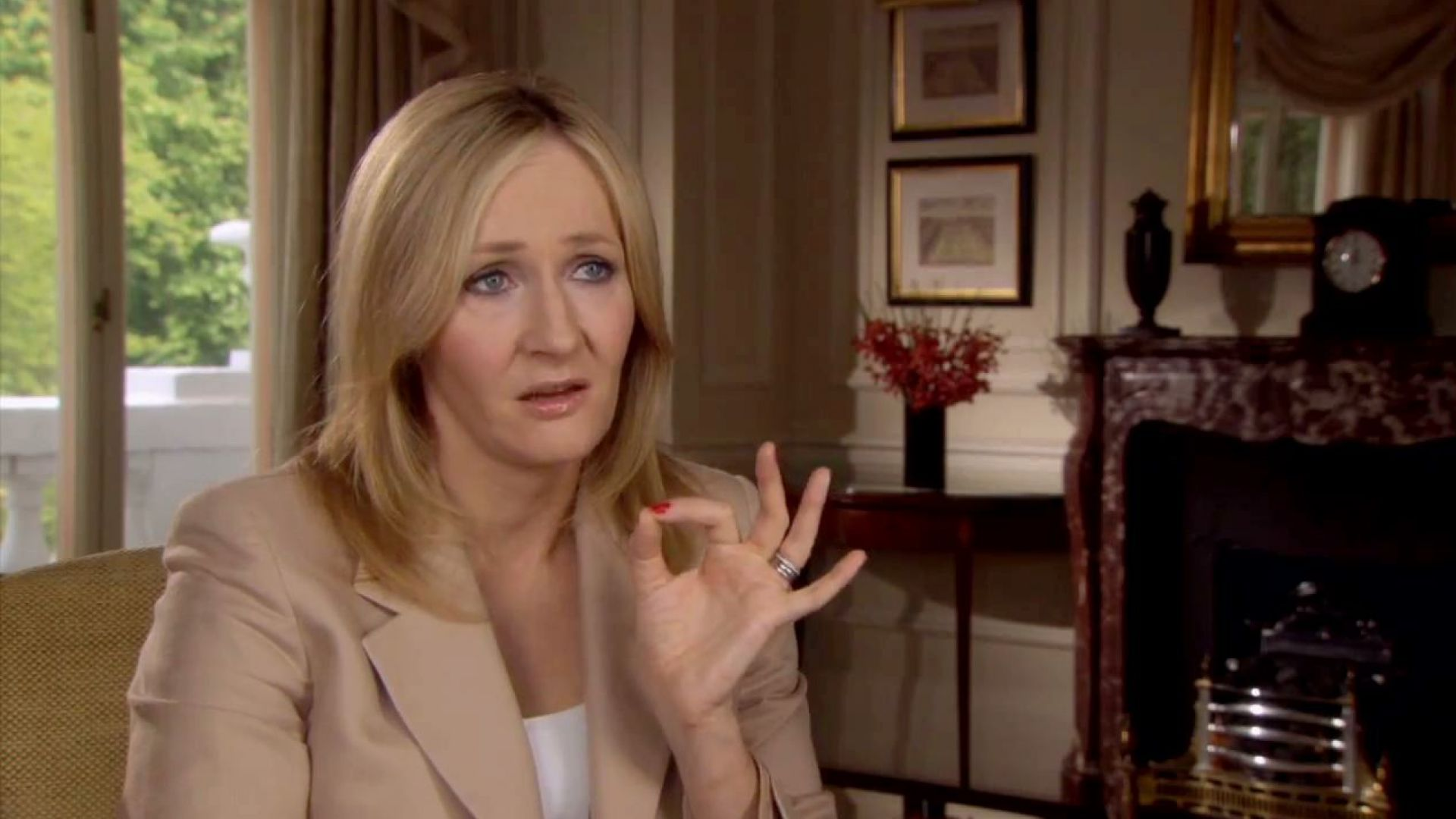 J.K. Rowling on her proudest moment while making Harry Potter