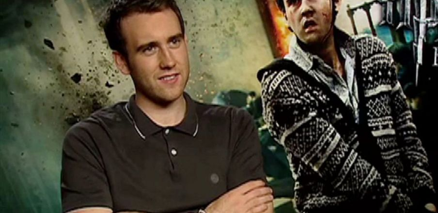 Matthew Lewis talks about playing Neville Longbottom in Harry Potter 7 Part 2