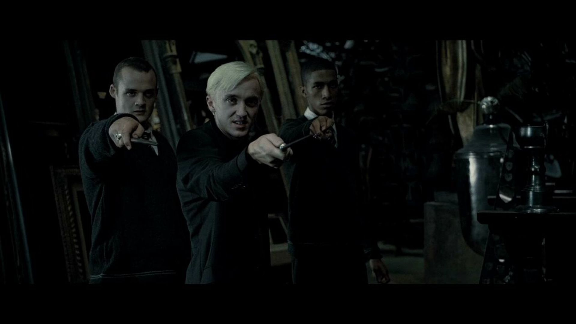 Draco Malfoy vs Harry Potter, the final confrontation