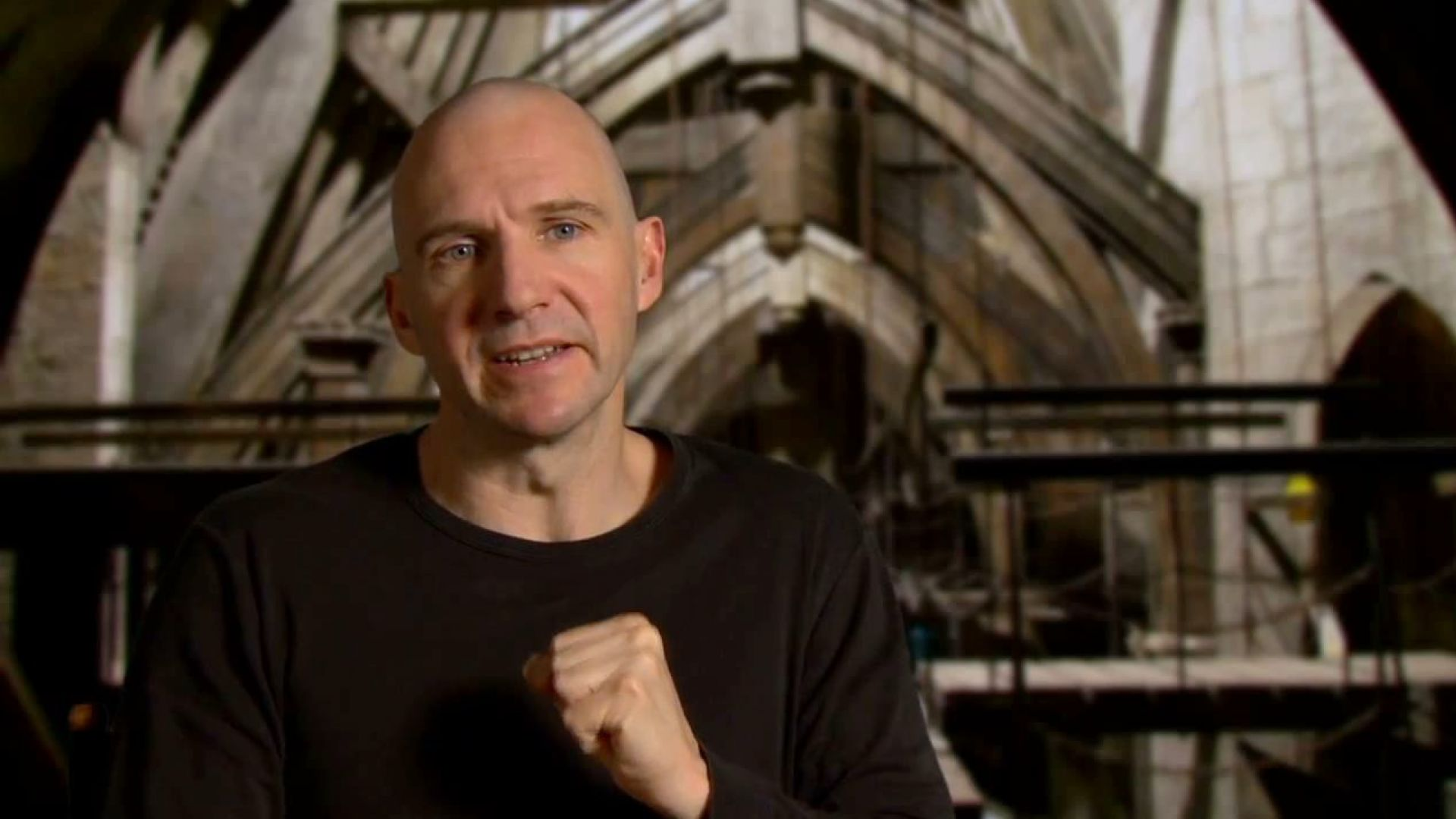 Ralph Fiennes on the crazy rage of Voldemort in the last Harry Potter