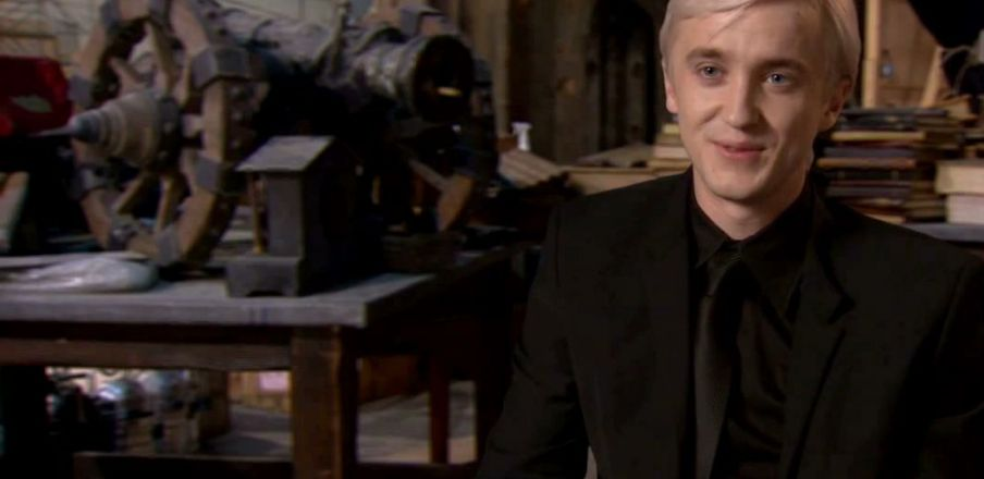 Tom Felton on blowing up Hogwarts and the Western standoff in the last Harry Potter