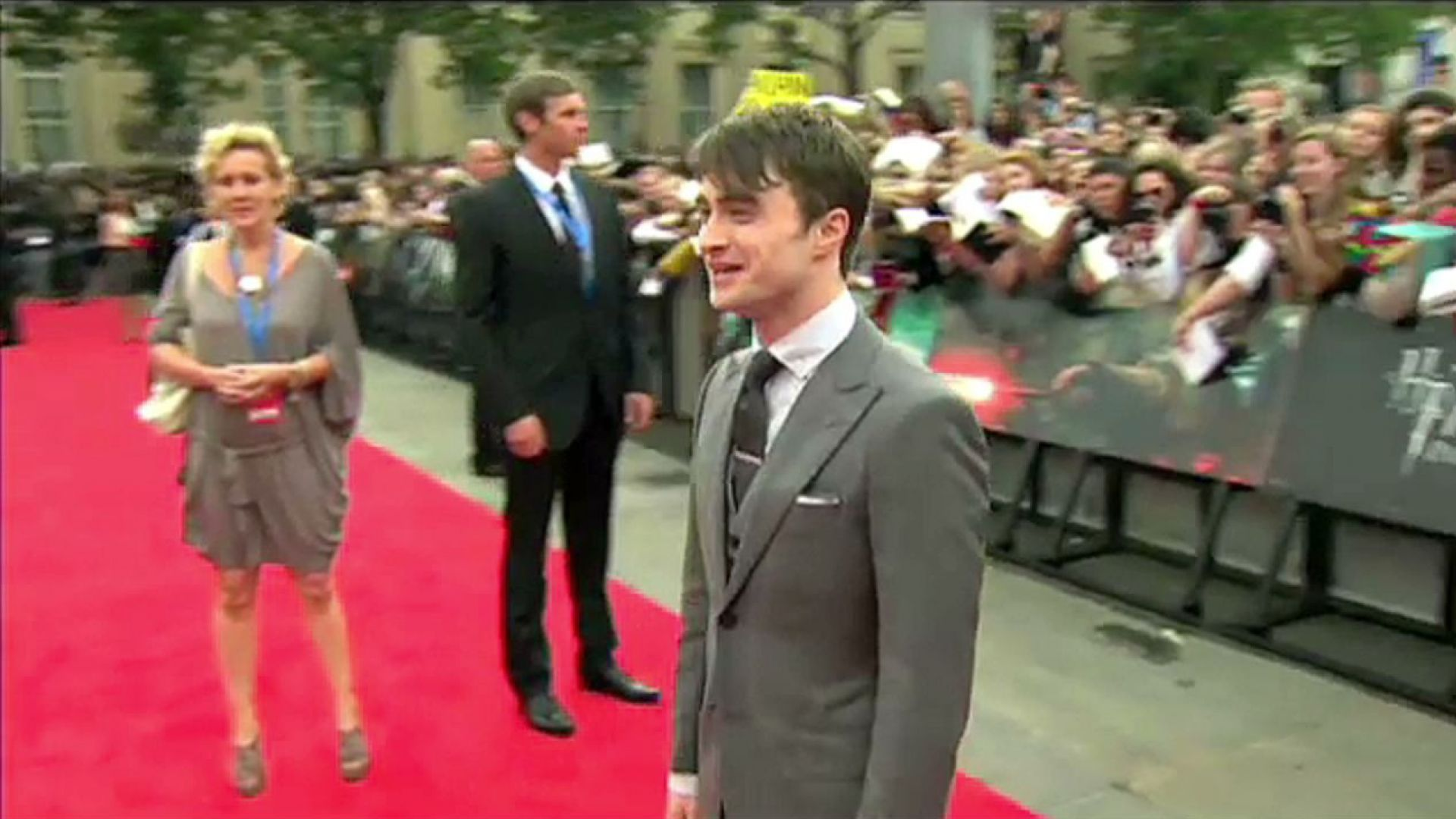 Harry Potter and the Deathly Hallows Part 2 World Premiere, Trafalgar Square