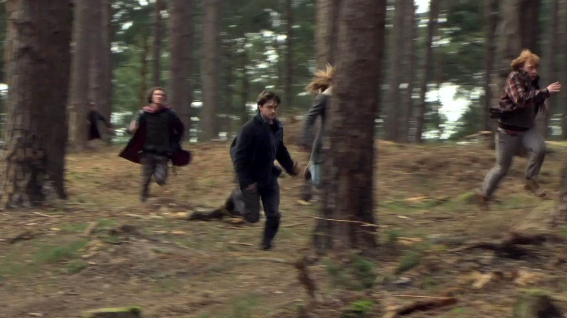 Running in the Forest of Harry Potter 7