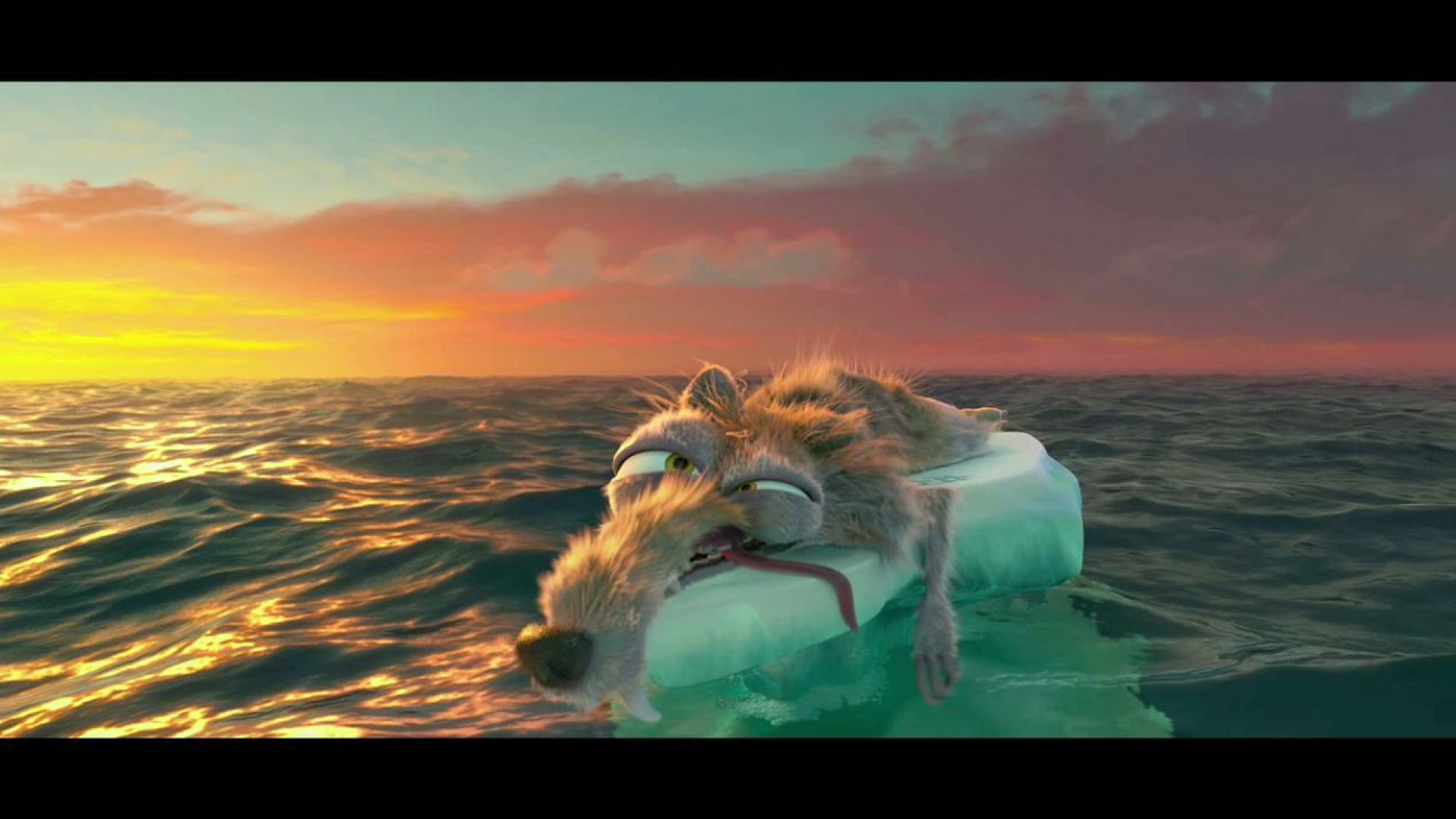 The Continent Cracks in Ice Age 4