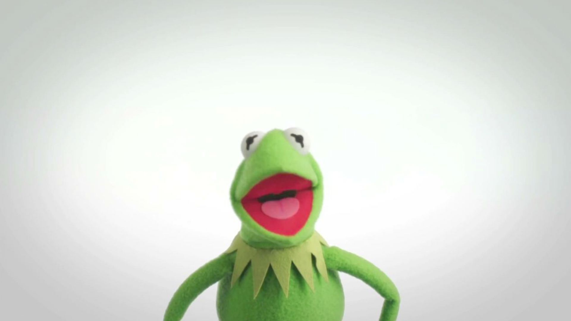 Kermit says it's still not easy being green, but you can help
