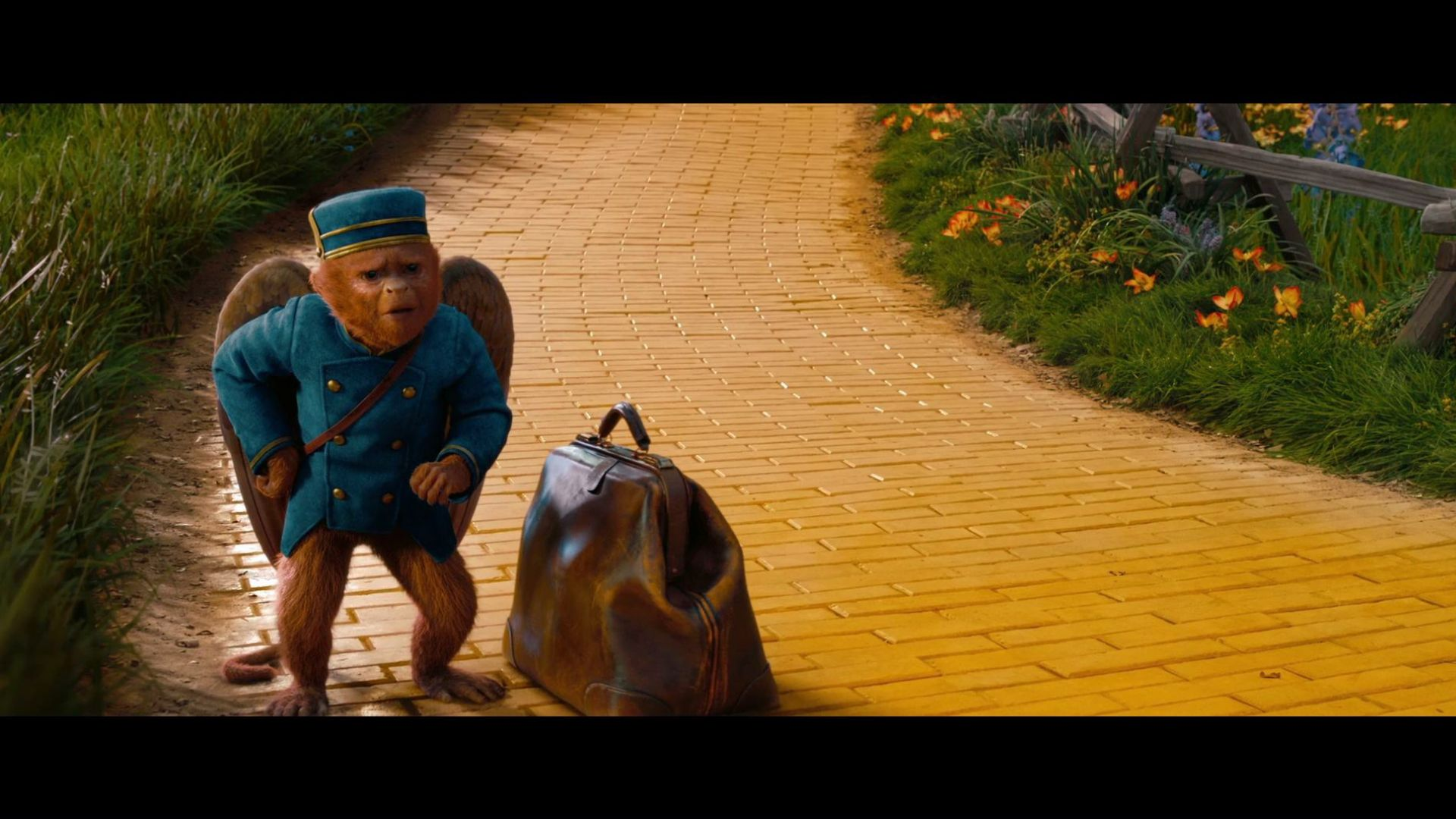You don't like bananas? Of course I love bananas. I'm a monkey. Oz the Great and Powerful