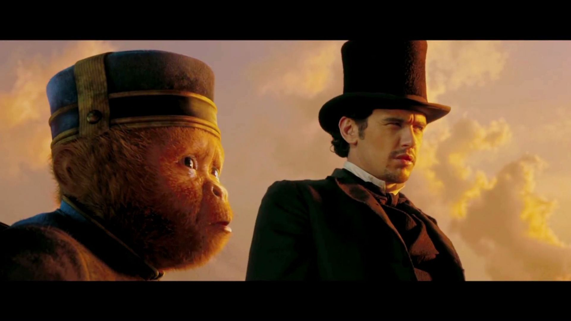 Good work. You just sneezed away the plan. Oz the Great and Powerful