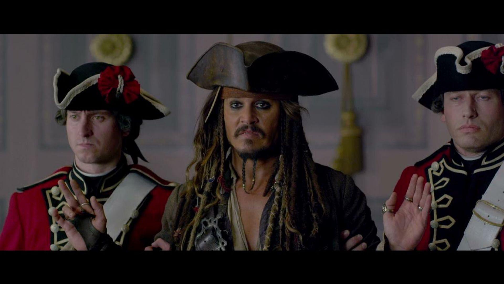 Jack Sparrow Escapes Barbossa's Palace, Pirates 4