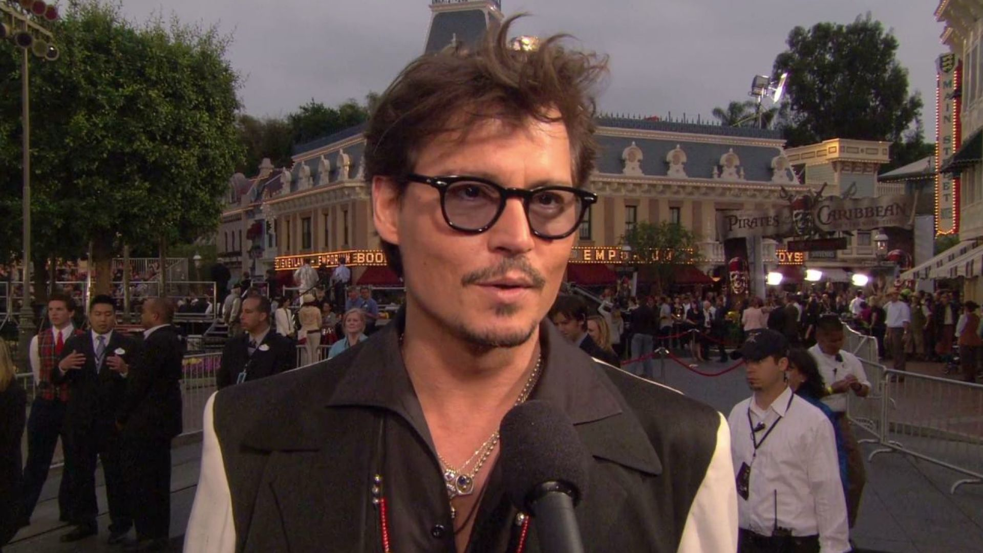 World Premiere of Pirates of the Caribbean 4: On Stranger Tides in Disneyland