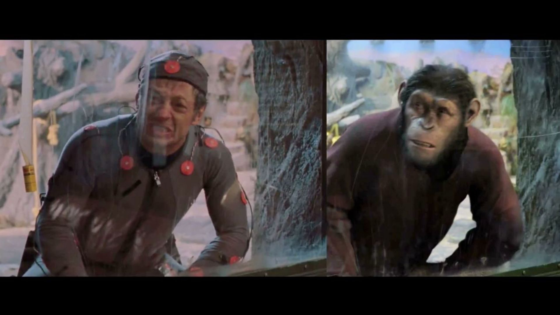 Andy Serkis and WETA do the performance capture in Rise of the Planet of the Apes