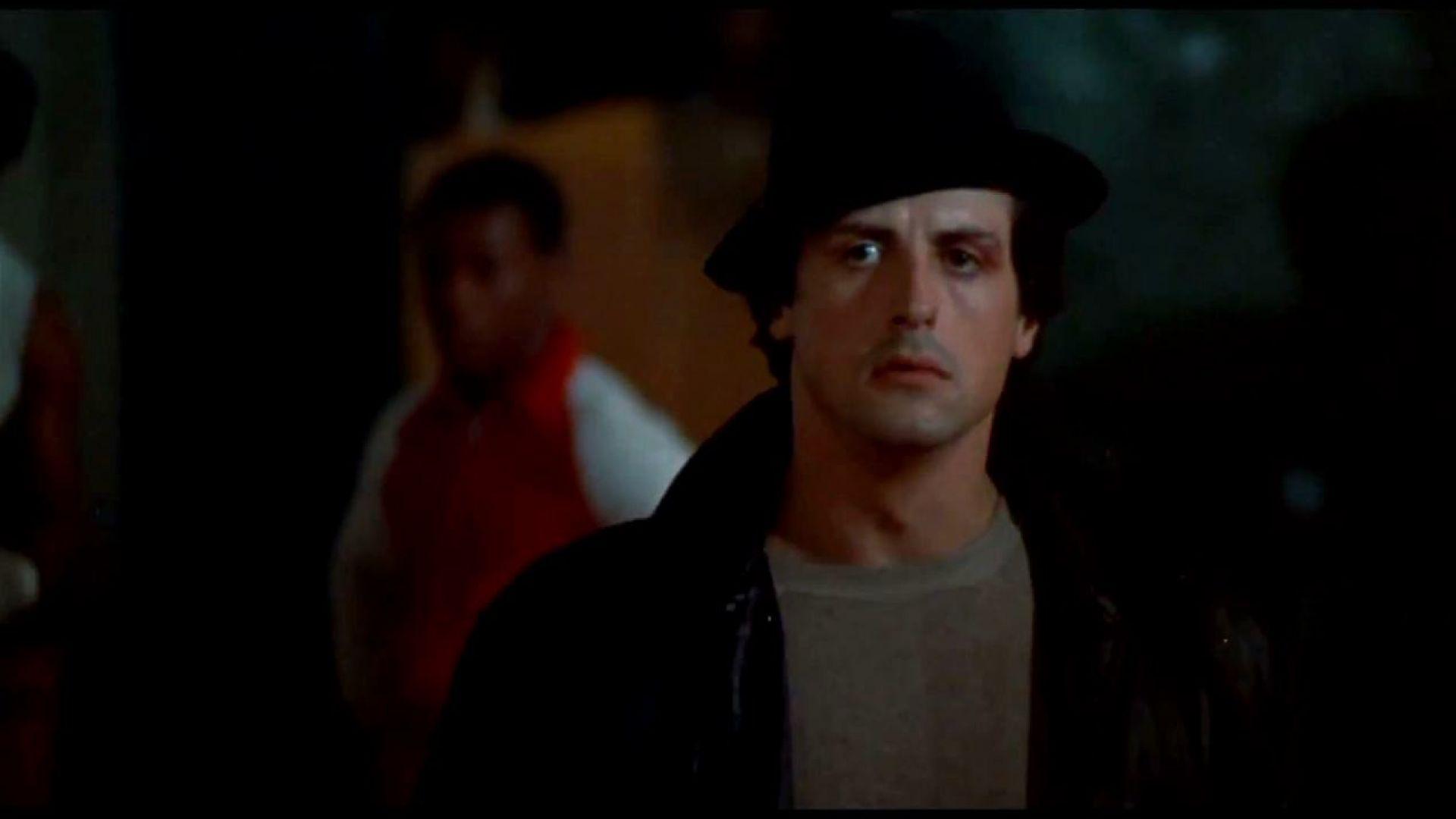 Sylvester Stallone as Rocky Balboa in Rocky (1976)