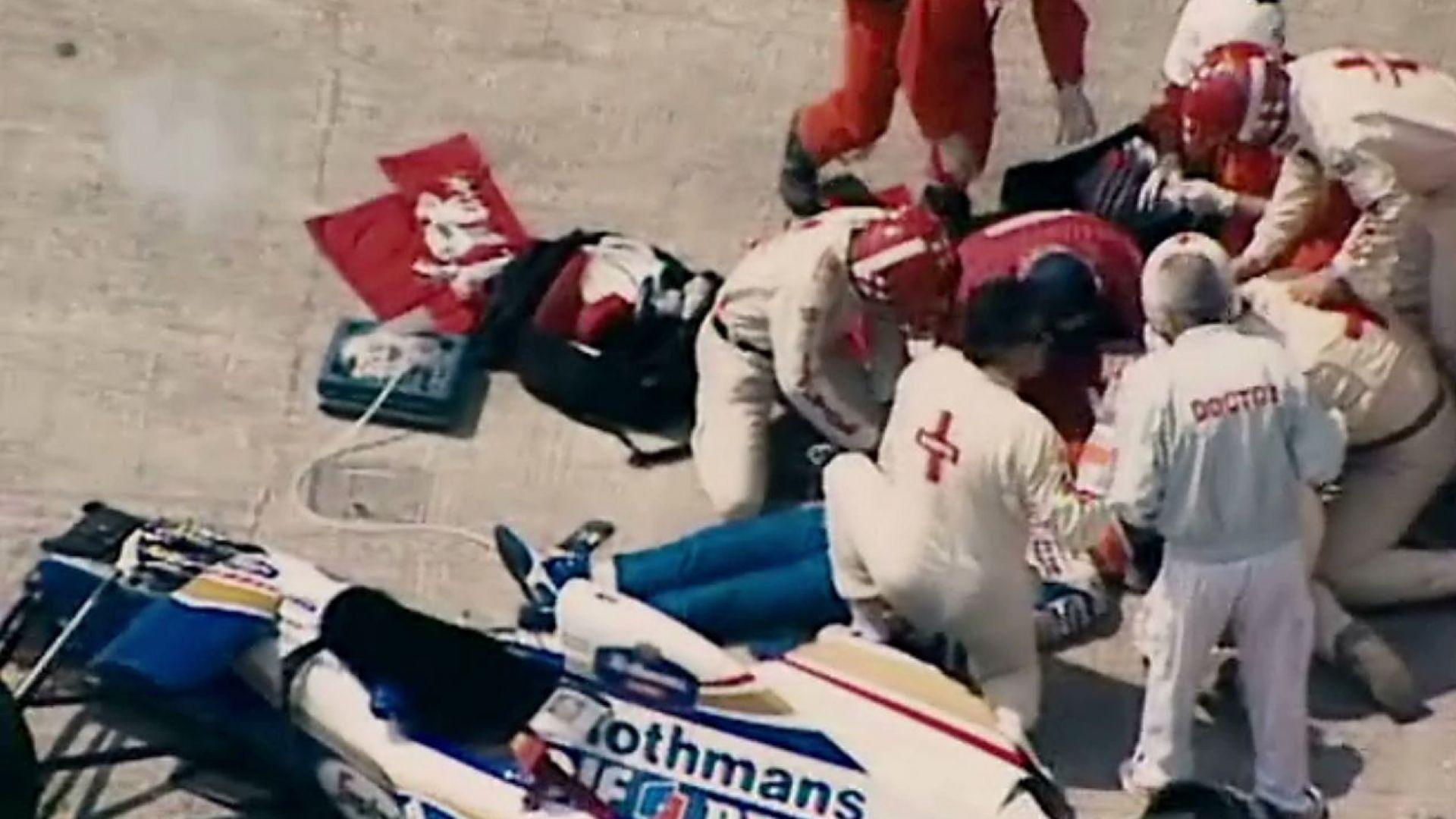 Ayrton Senna Body After Crash Ayrton Senna Crash May 1st