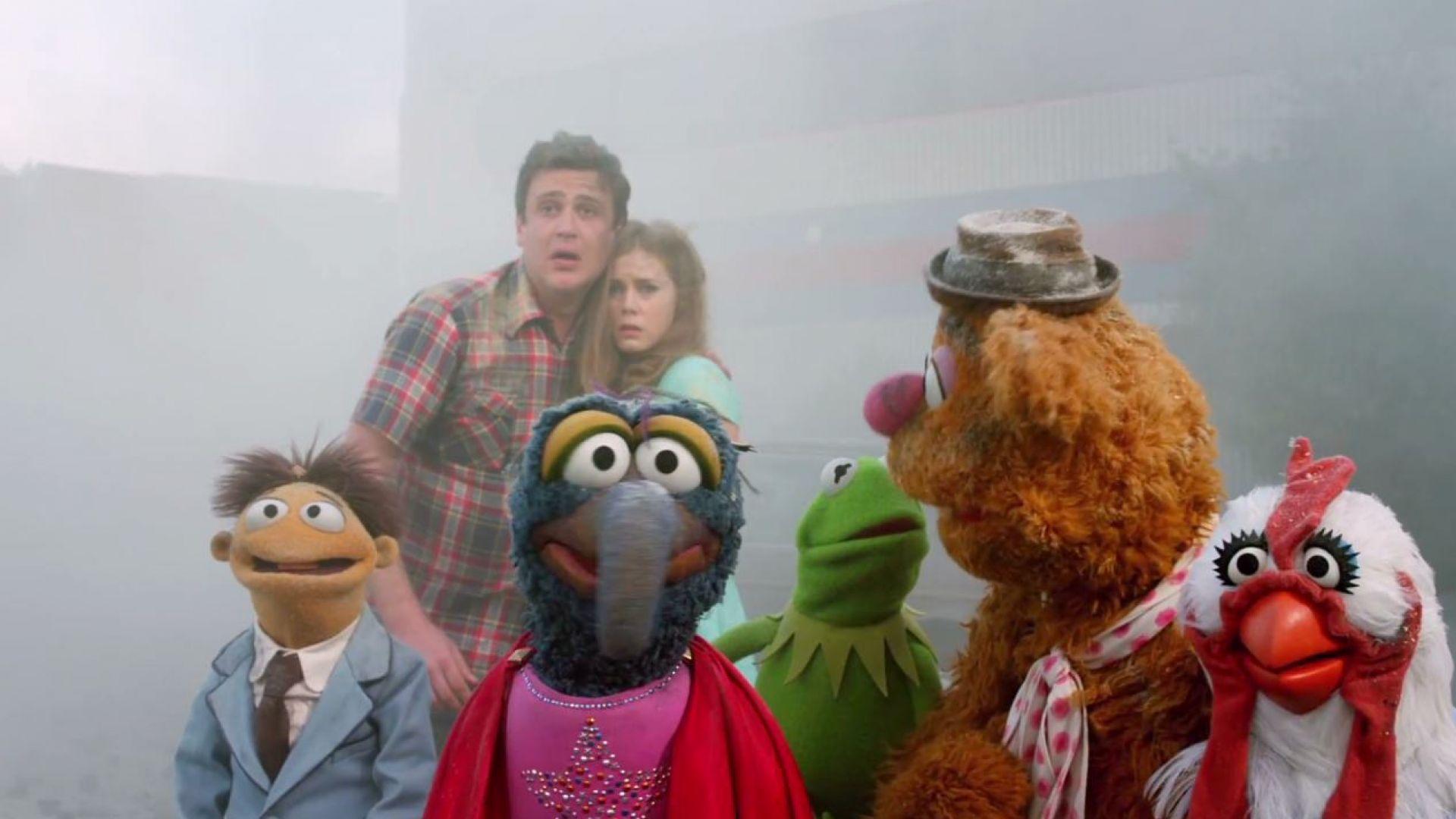 Kermit stars in the 2011 Muppets movie