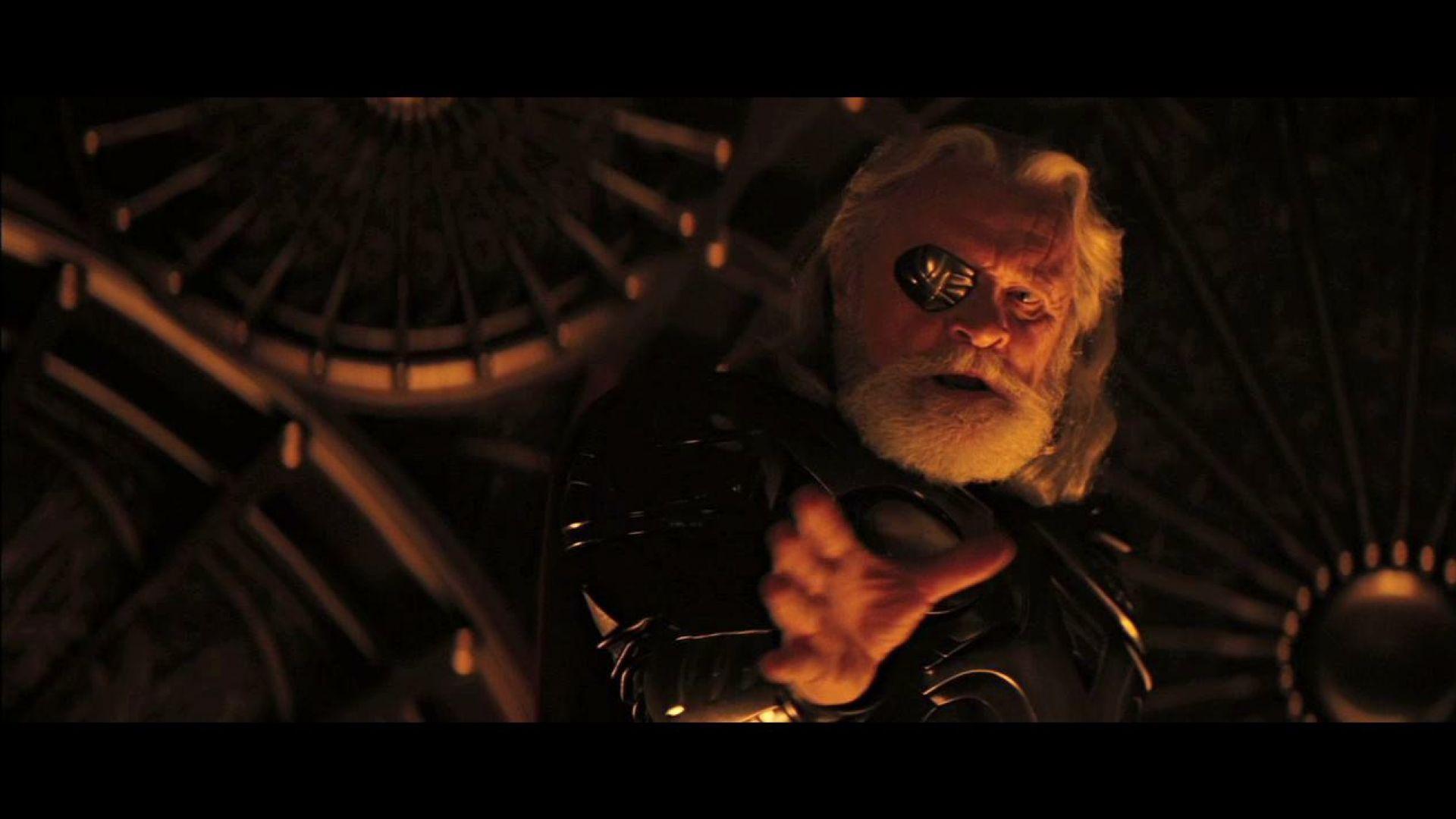 Odin tells Thor he's unworthy