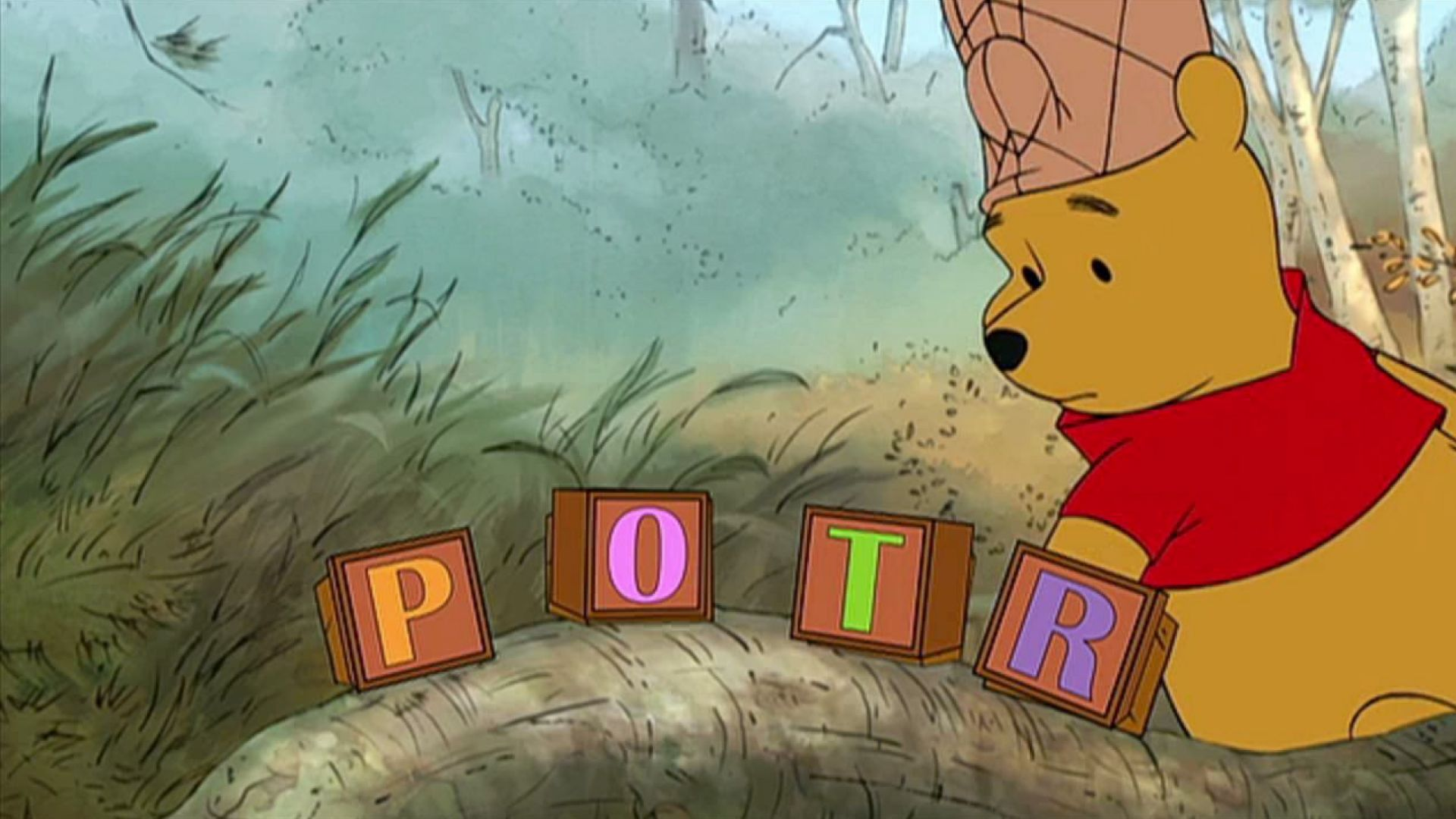 How do you spell Adventure? Harry Potter Winnie the Pooh