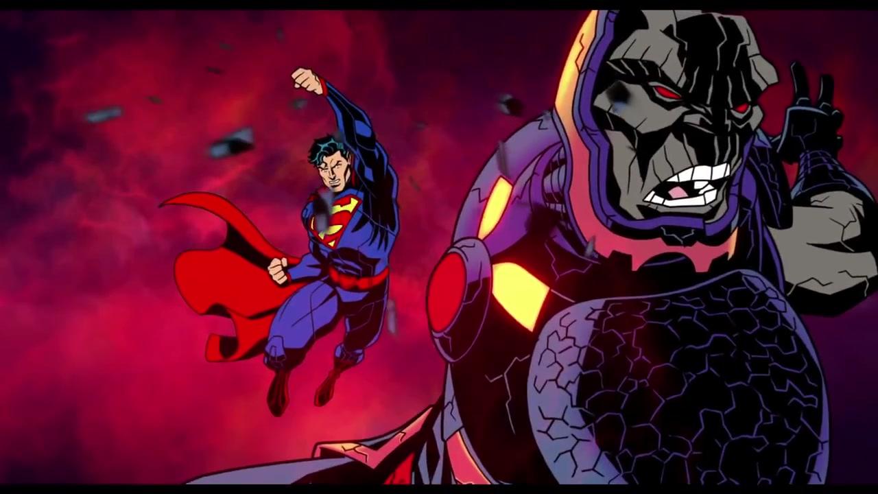 75th Anniversary animated short of Man Of Steel comics