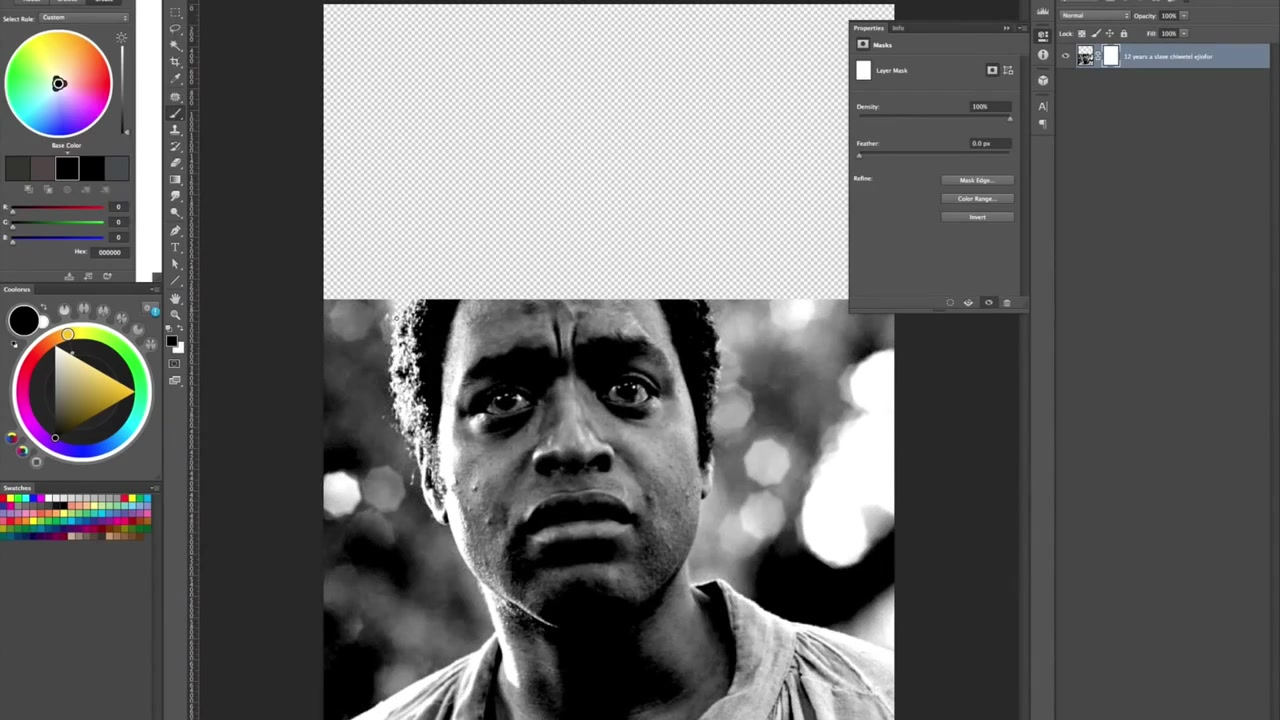 Speed Drawing: 12 Years A Slave