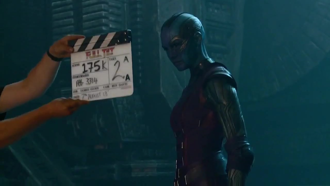 Official Featurette for Guardians of the Galaxy focusses on Gamora and Nebula