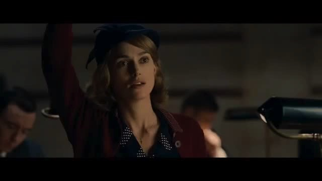 Alan meets Joan in The Imitation Game