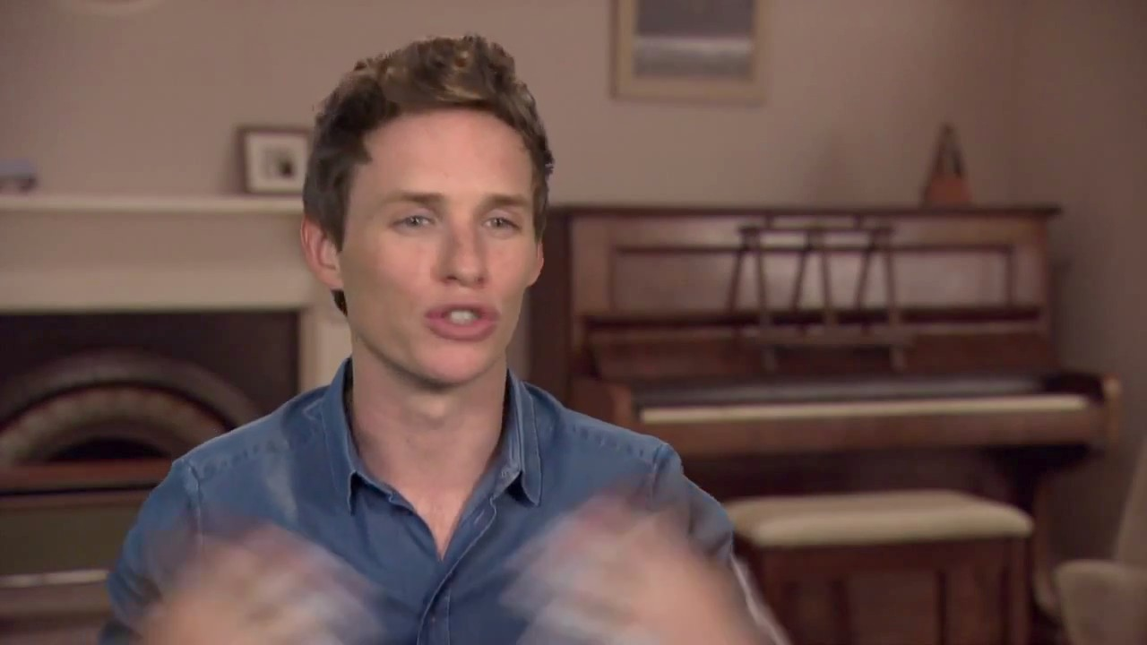 Go on set with cast and crew of The Theory of Everything