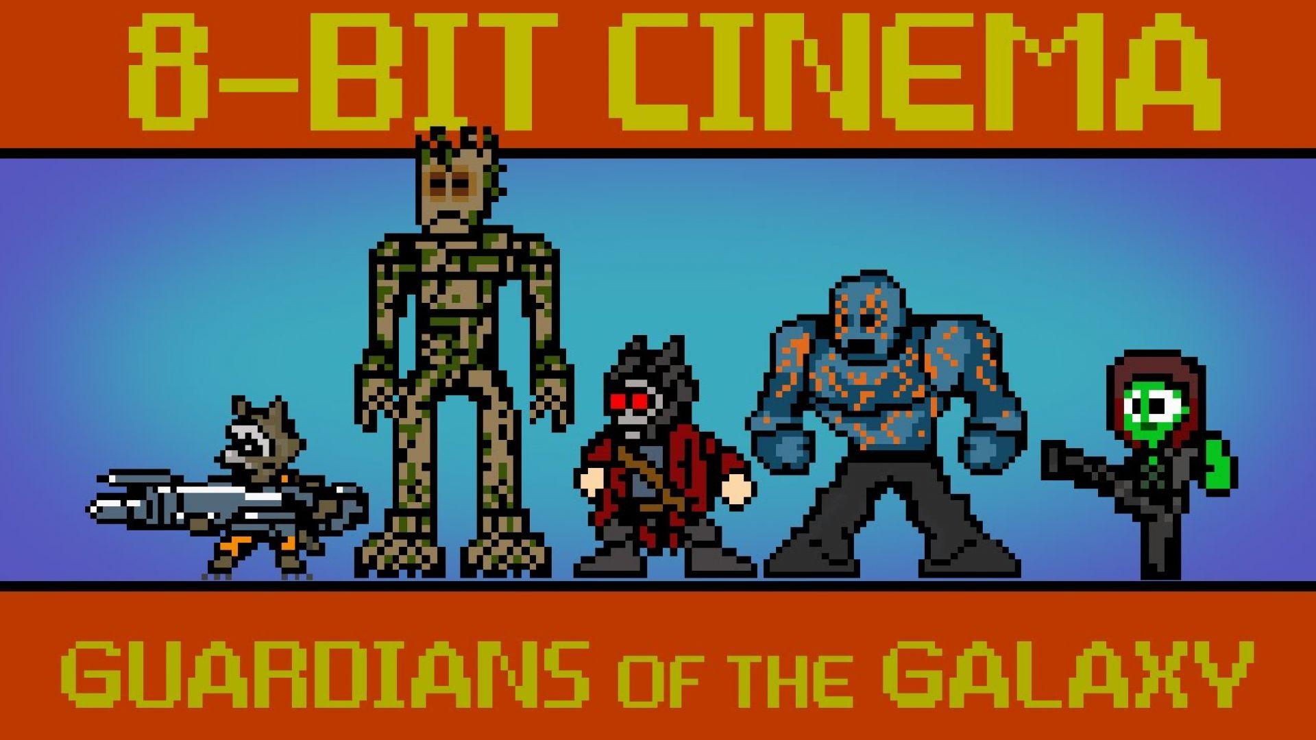 8-Bit Cinema Presents 'Guardians of the Galaxy'