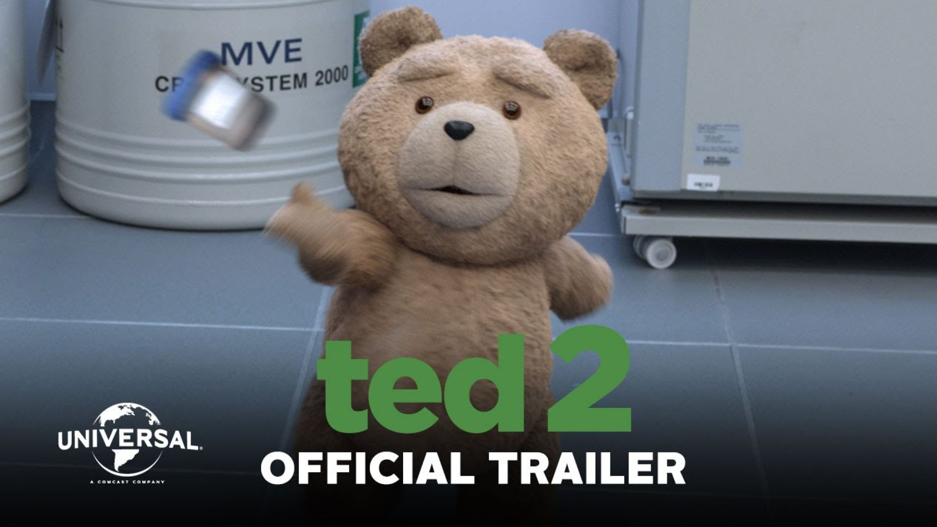 Official Trailer for 'Ted 2'